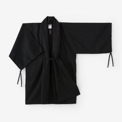 撥水綾織 宮中袖 間 単(はっすいあやおり きゅうちゅうそで けん ひとえ)/濡羽色(ぬればいろ)