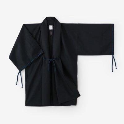 撥水綾織 宮中袖 間 単(はっすいあやおり きゅうちゅうそで けん ひとえ)/深紺(しんこん)