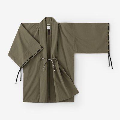 撥水織 宮中袖 間 単(はっすいおり きゅうちゅうそで けん ひとえ)/海松色(みるいろ)
