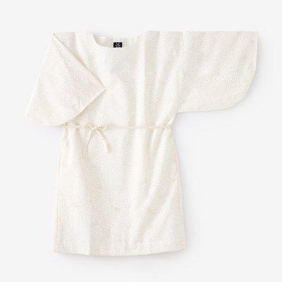 モスリン 薙刀長方形衣(なぎなたちょうほうけい)/菊づくし 胡粉色(きくづくし ごふんいろ)
