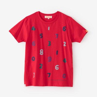 【予約10%OFF】SO-SU-U 四味 半袖Tシャツ/緋色2(ひいろ)(※4月末発送予定)