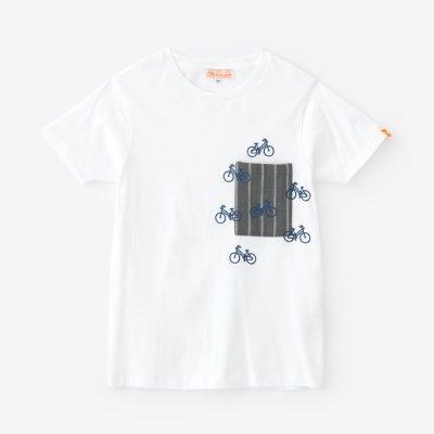 半袖 ポケットTシャツ/つくも×チャリンチャリン