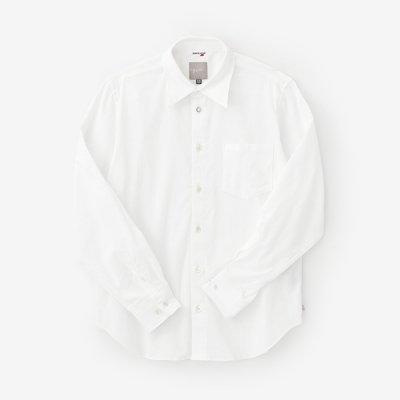 高島縮 20/20シャツ/つくも