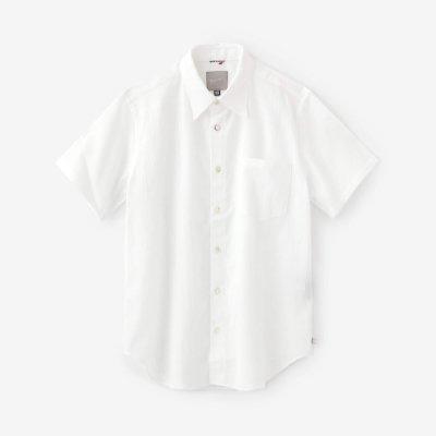 高島縮 半袖シャツ/つくも