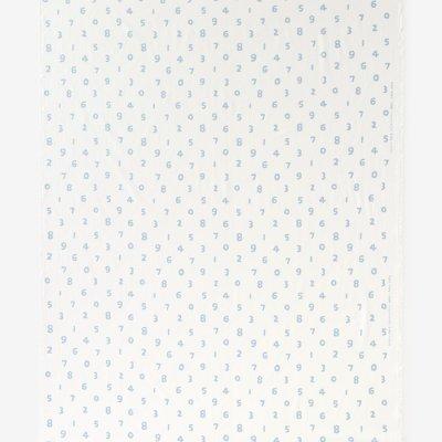 テキスタイル計り売り (高島縮/坂尾織物)/SO-SU-U つくも×浅縹(あさはなだ)<50cm>