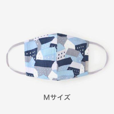 ◎高島縮 テキスタイルマスク(Mサイズ)/北の国