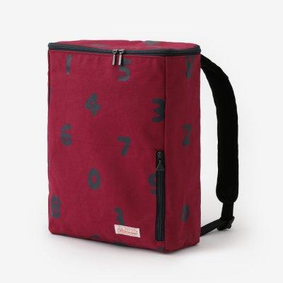 BOXバックパック/SO-SU-U 臙脂色×濃紺(えんじいろ×のうこん)