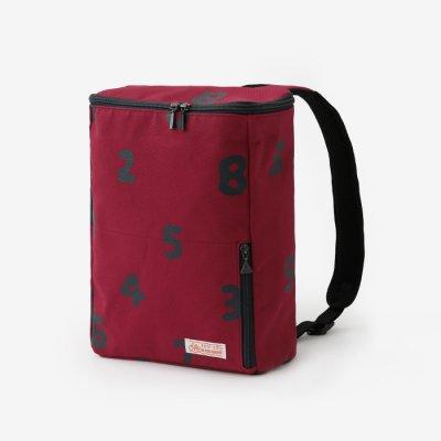 BOXバックパック 小/SO-SU-U 臙脂色×濃紺(えんじいろ×のうこん)