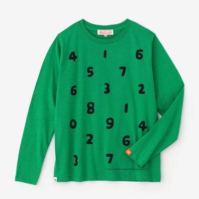 SO-SU-U 長袖Tシャツ/常磐色(ときわいろ)