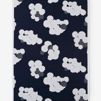 テキスタイル計り売り (8号帆布)/雲間に菊(くもまにきく)<50cm>