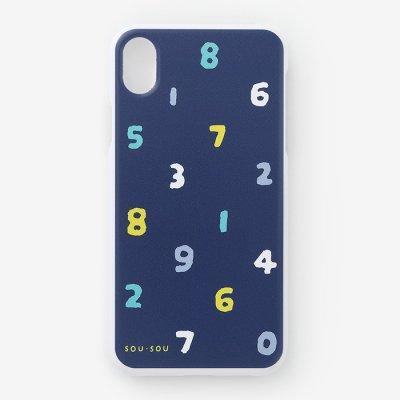 iPhone XR テキスタイルカバー/SO-SU-U 四味紺青(よつみこんじょう)