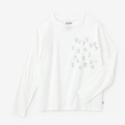 高島縮40/40 長袖ポケットTシャツ/つくも×SO-SU-U昆(こん)