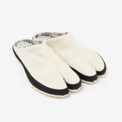 貼付つっかけ足袋/さしこ 生成(きなり)