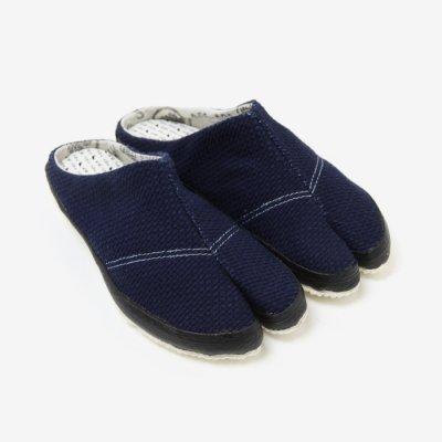 貼付つっかけ足袋/さしこ インディゴ
