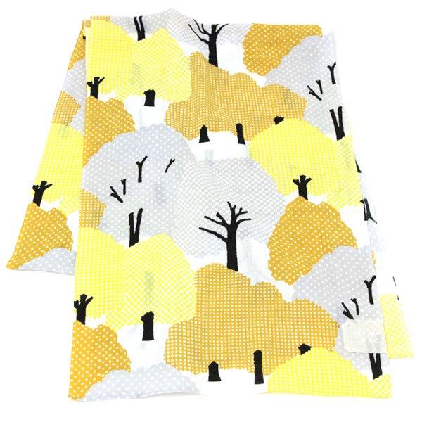 くびまき(巾着袋付き) 糺の森 秋分
