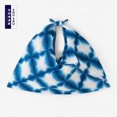 有松鳴海絞 小巾折/張正雪花1