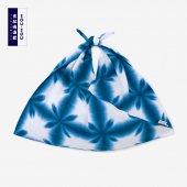 有松鳴海絞 小巾折/張正雪花5
