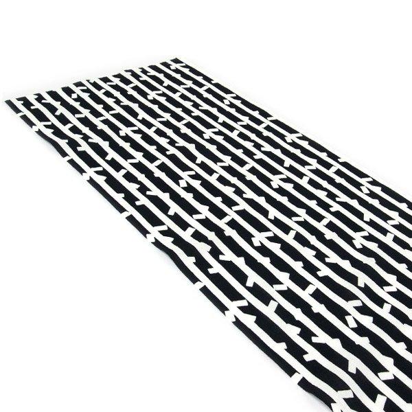 SOU・SOUテキスタイル計り売り(手ぬぐい)/紙吹雪 黒×白