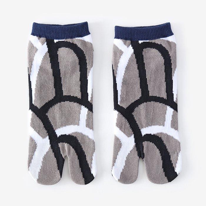 足袋下(踝丈)/大滝 鉛色 【男・女性用】