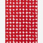 テキスタイル計り売り (8号帆布)/おはじき大 乳白(にゅうはく)×深緋(こきひ)<50cm>