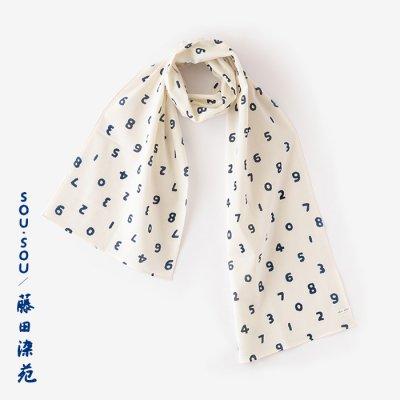 SOU・SOU×藤田染苑 藍捺染 くびまき/SO-SU-U