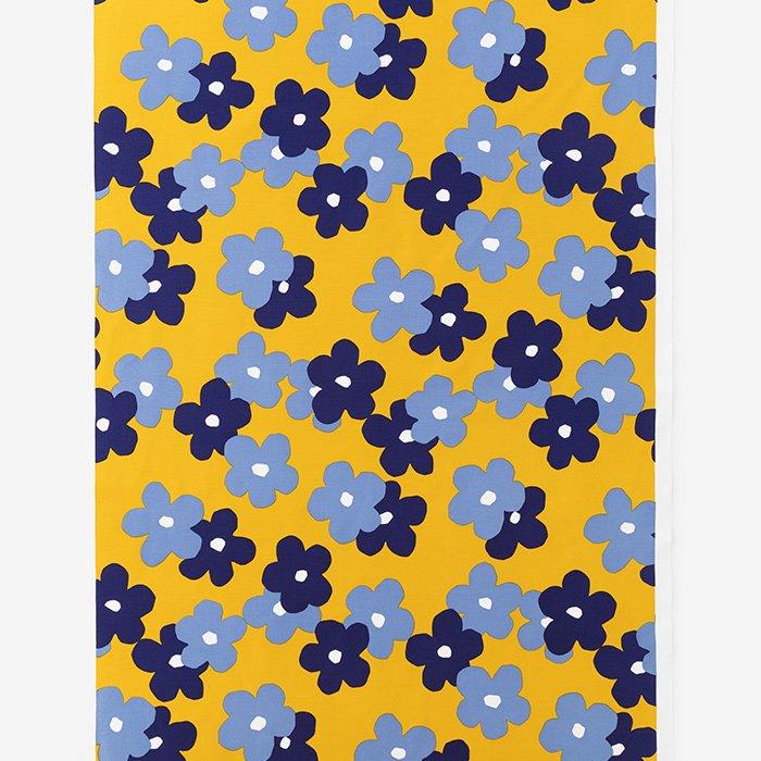 テキスタイル計り売り (8号帆布)/花がさね 菜種色(なたねいろ)<50cm>
