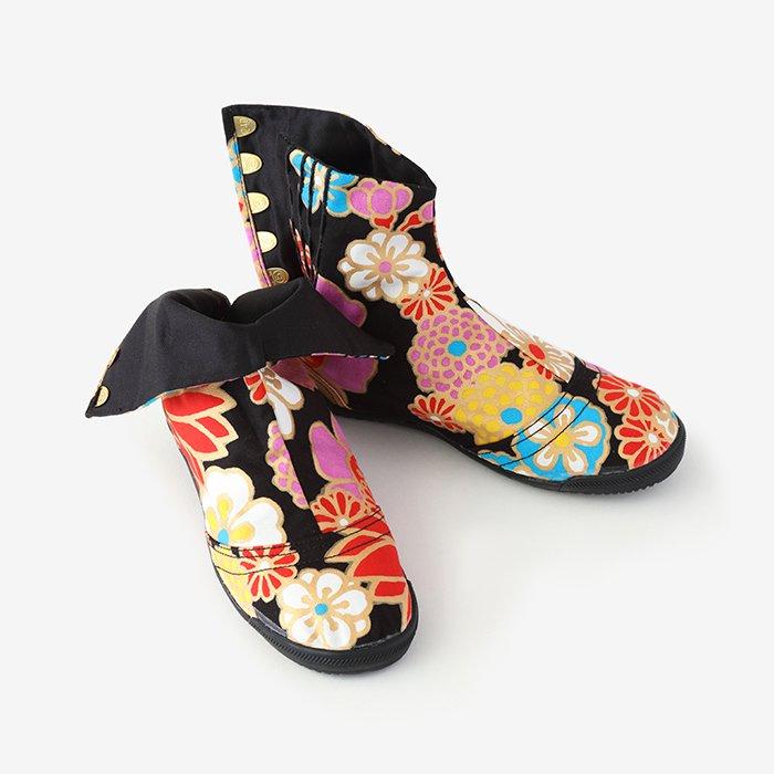 先丸5枚足袋/金襴緞子(きんらんどんす)