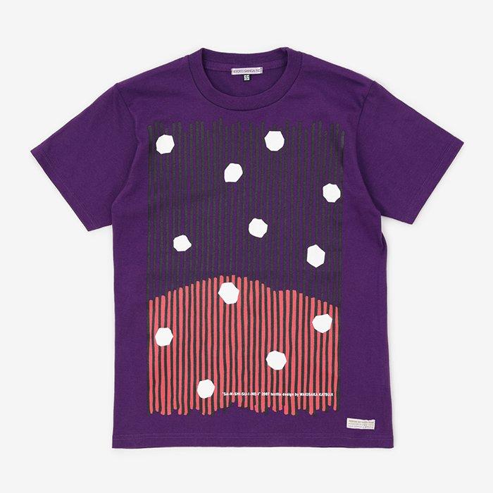 KYOTO SANGA F.C. 山紫水明 半袖Tシャツ/京紫