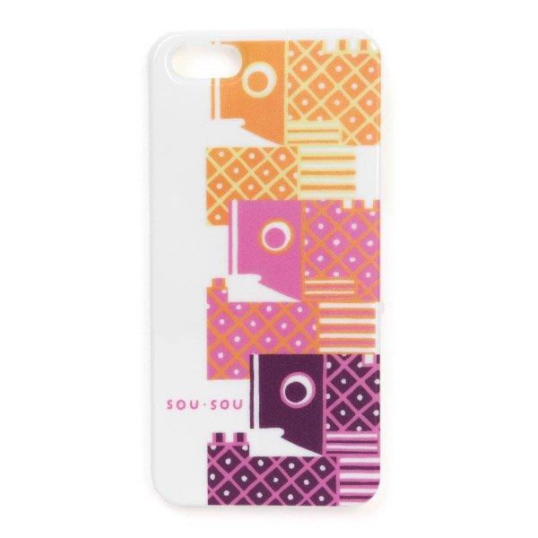 【予約10%off】iPhone5 テキスタイルカバー/鯉のぼり(※5月下旬入荷予定)