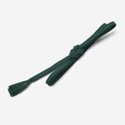絹鳴り帯締め/青緑