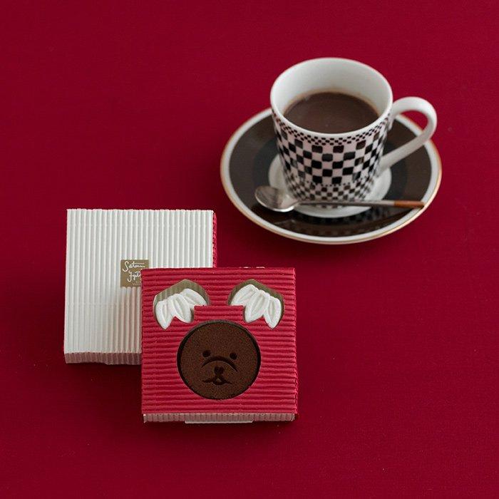 亀屋良長謹製 chocolat chaud 笑