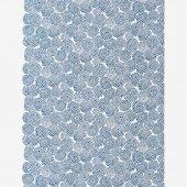 テキスタイル計り売り (21番手平織)/菊づくし 鳥の子色