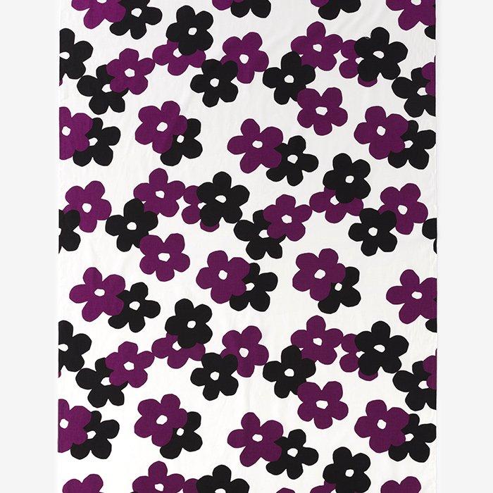 テキスタイル計り売り (21番手平織)/花がさね 白紫(しろむらさき)<50cm>