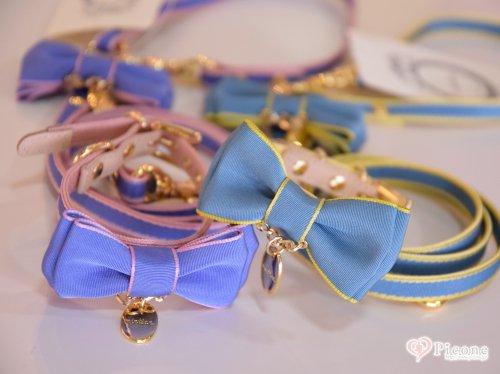【minttan】Side line ribbon カラー&リード(Summer color) Side line ribbon カラー&リードにSummer colorが登場♪ビタミンカラーのパイピングがとっても可愛く目を惹きますね♡金具はゴールドなので、シンプルなデザインですが高級感があります。女の子に...
