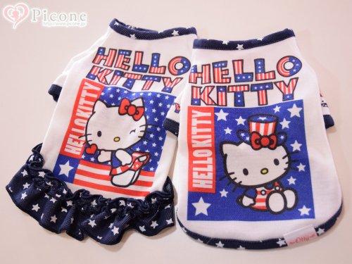 【Otty】ヒートワン☆Otty×HELLO KITTY・アメリカンTシャツ&ワンピ