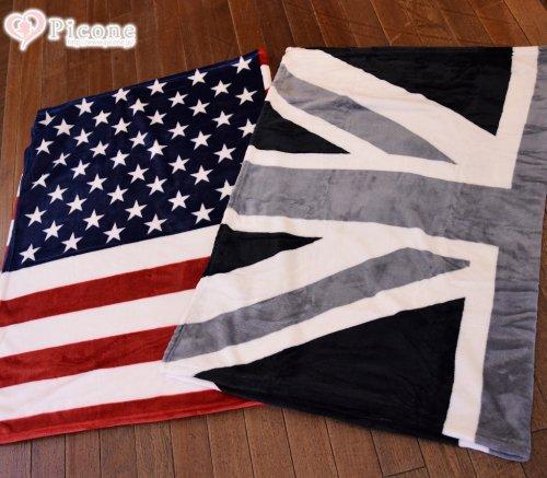 【Otty】NEW 国旗柄ブランケット