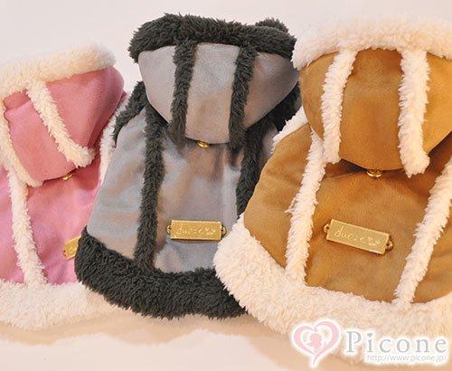 ★SALE★【ducie】fluffy mouton coat