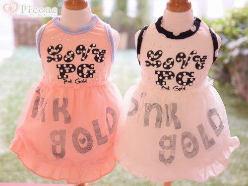 ★SALE★【PINK GOLD Pink Label】PG TUTU DRESS