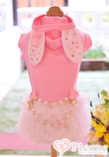★SALE★【Picone×ForPetsOnly★コラボ】 special bunny love dress