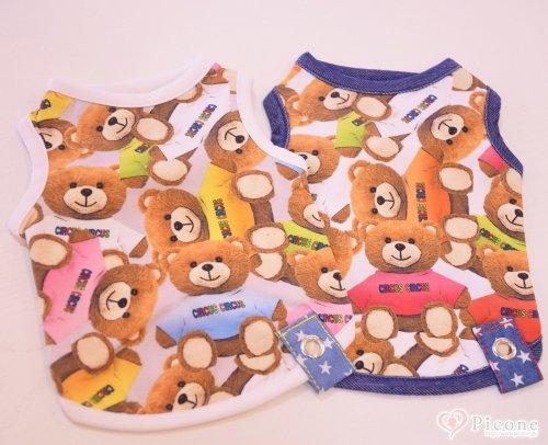 【CIRCUSCIRCUS】Colorful Bear タンク...