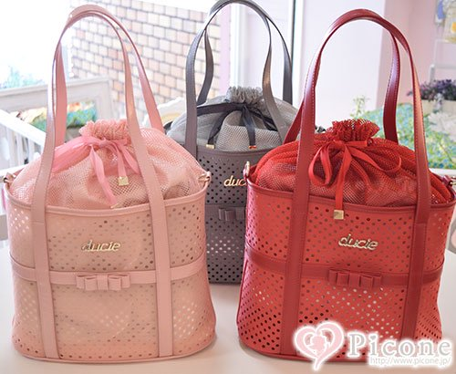 【ducie】 Jelly mini tote carrier