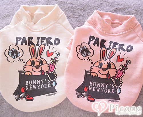 ��PARIERO NY��BUNNY'S NY TEE