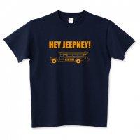 HEY JEEPNEY! ジープニー レトロTシャツ