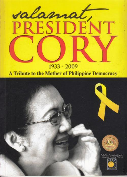 Salamat President Cory (a tribute to the Mother of Philippine Democracy) DVD