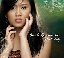 Sarah Geronimo/Becoming