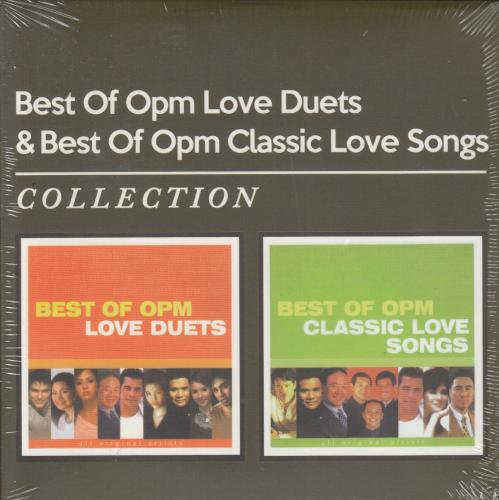 V.A / Best Of OPM Love Duets & Best Of OPM Classic Love Songs collection 2CD