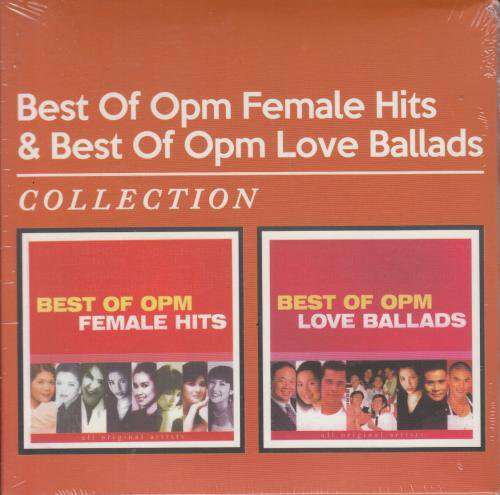 V.A / Best Of OPM Female Hits & Best Of OPM Love Ballads collection 2CD