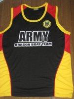 Philippine Army Dragon Boat Teamオフィシャルタンクトップ (黒)