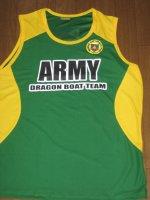 Philippine Army Dragon Boat Teamオフィシャルタンクトップ (緑)
