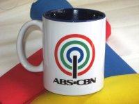 ABS-CBN オリジナルマグカップ (青)